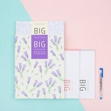 2018 большой ежемесячно планировщик 13 месяцев планировщик книга 23*30 см 32 P корейской моды дневник план ноутбук