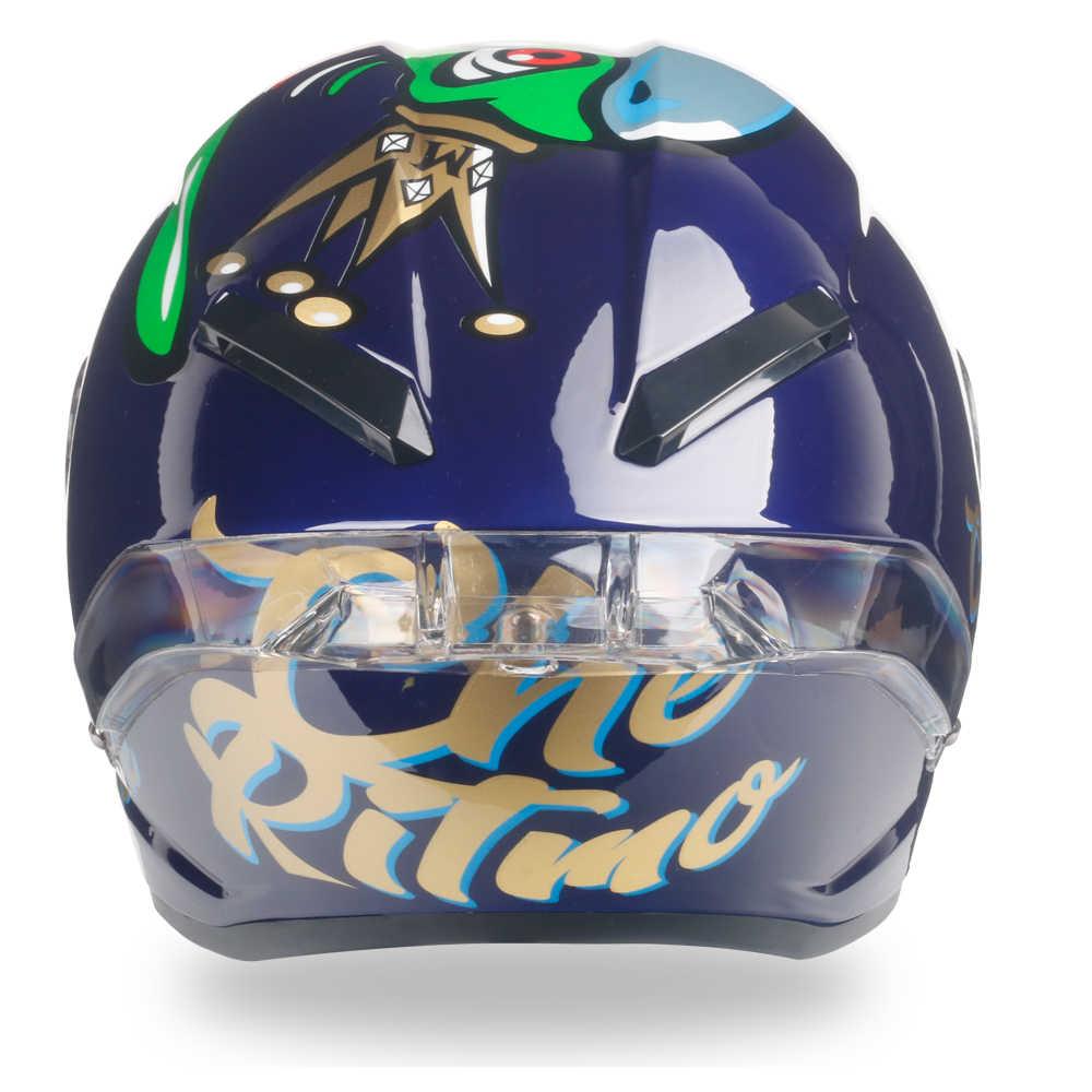 Полнолицевой мотоциклетный rcycle шлем Casco de moto Racing Шлем Kask DOT одобренный Радужный козырек moto cross Off Road Touring