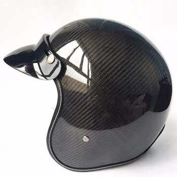 New Light good quality Carbon fiber motocross helmets vintage retro 3/4 open face helmet casque motocross free shipping free shipping fm75ha 10 no new old components good quality fet module 75a 500v can directly buy or contact the seller