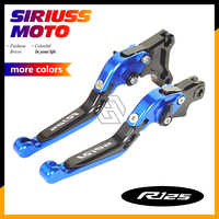 CNC Motorycle Accessories Foldable Lever Motocross Brake Clutch Levers Case for YAMAHA YZF R125 2014 2015