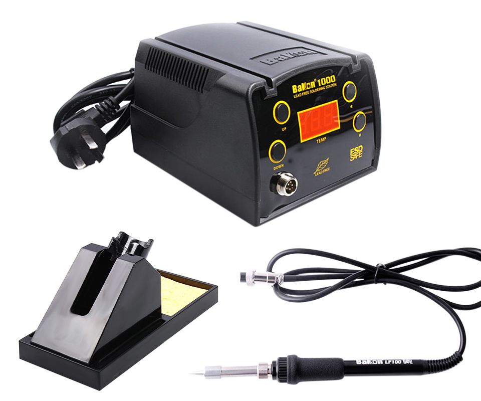 BAKON BK1000 90W High Frequency Digital Soldering Station with Temperature Control System 6