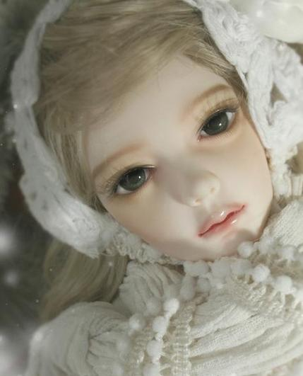 Free shipping! free makeup and eyes included ! top quality 1/4 bjd doll girl SOULDOLL op ...