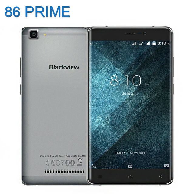 Newest Blackview A8 Max Mobile Phone 5.5 inch 4G LTE Android 6.0 MT6737 Quad Core 8MP 3000mAh 2GB 16GB 1280x720 IPS Smart Phone