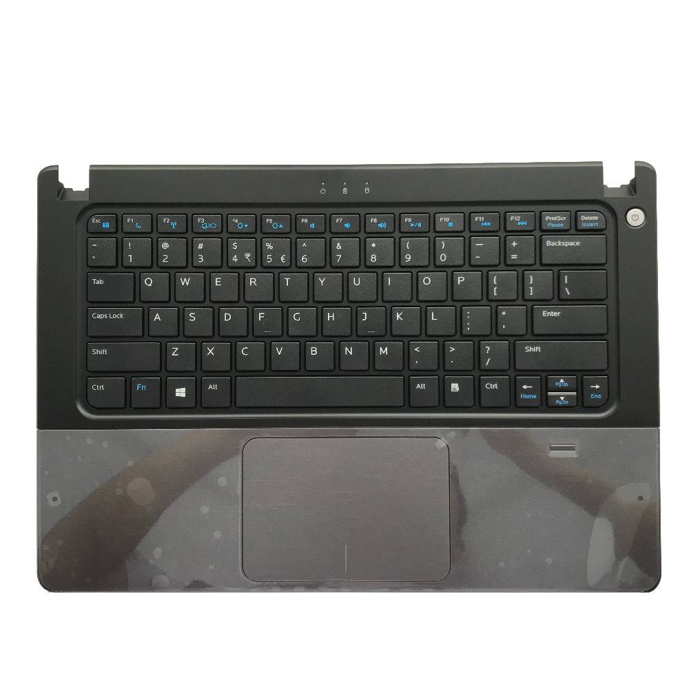 SZWXZY For DELL 5470 Laptop Top Cover With Keyboard black Touchpad US MP 12G73U4 920 CN