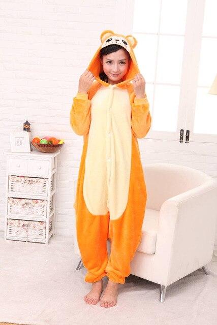 32e3d6599 Winter Golden Monkey Onesies Flannel Pajama Sets Adult Unisex ...