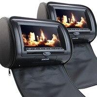 Eincar Auto CD kussen monitor hoofdsteun dvd-speler 9 inch HD TFT Screen Draagbare auto dvd-speler met FM ONDERSTEUNING 32 bit Spel Mp3