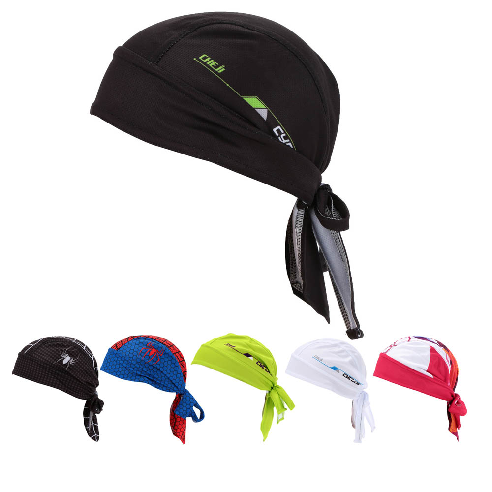 Pañuelo de Ciclismo para hombre y mujer, diadema de bufanda pirata, sombrero de Ciclismo de montaña