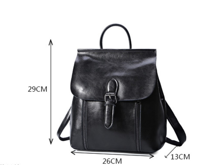 875b12c3f1c3 LKX Fashion Trend Genuine Leather Cute Women Backpack Woman Double Shoulder  School Bag Feminine Mini Backpacks For Teenage Girls