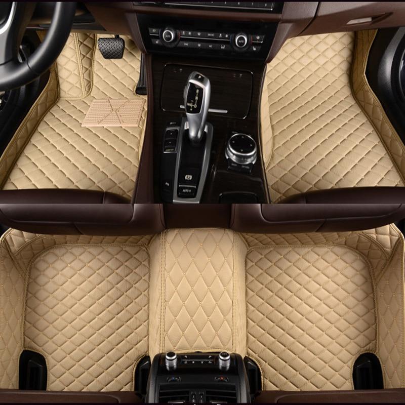 Auto autopõrandamatid Audi a4 b6 a6 c5 b8 jaoks A6L R8 Q3 Q5 Q7 S4 - Auto salongi tarvikud - Foto 2