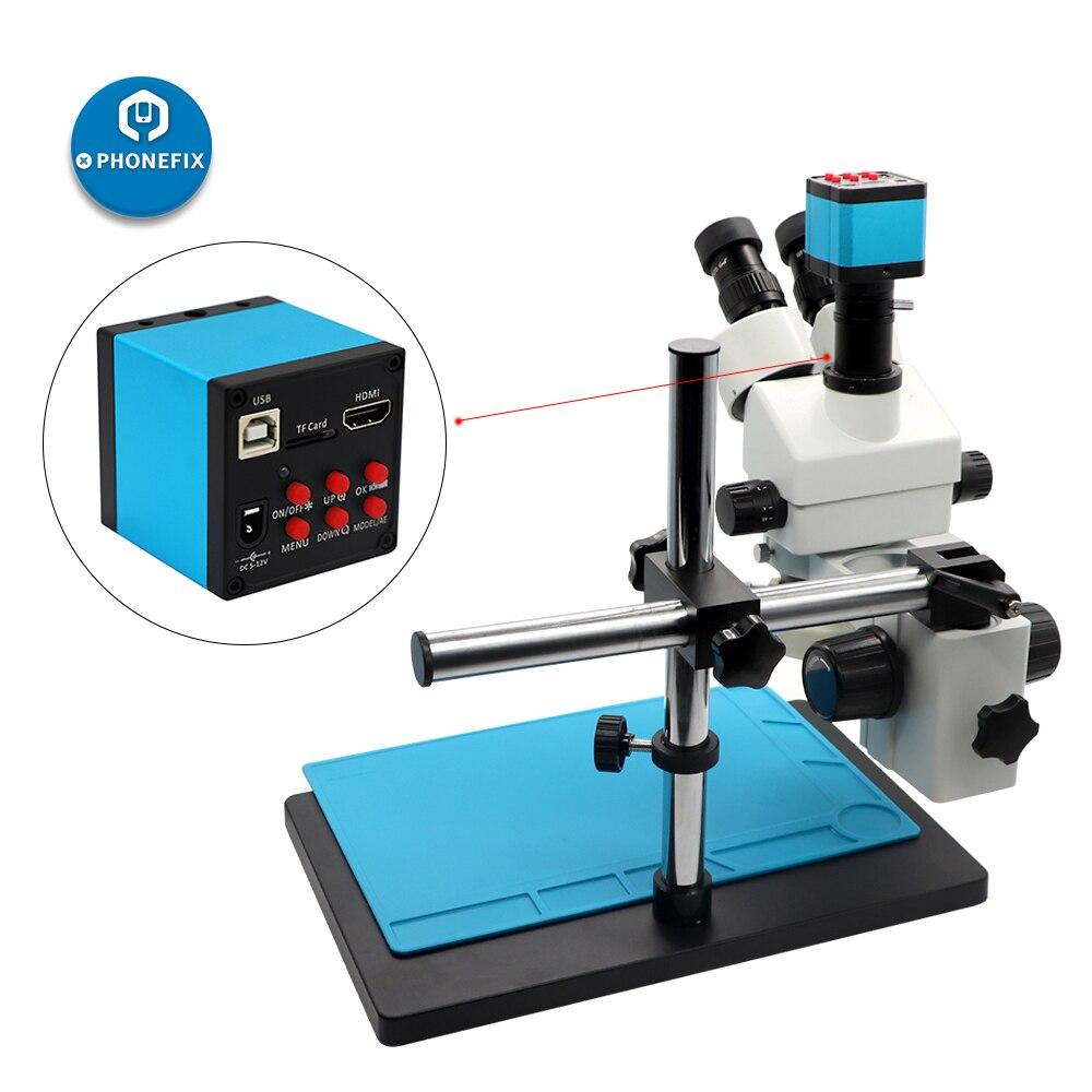 focal 21mp câmera digital telefone placa-mãe pcb microscópio de solda