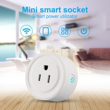 Portable And Mini WiFi Smart Socket Remote Control Timer Switch Power Socket Durable Travel Outlet Plug And Play