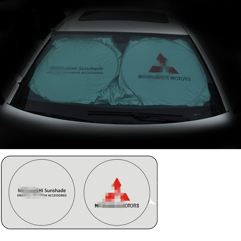 For Mitsubishi Asx Lancer 10 9 Outlander 2013 Pajero Sport L200 Expo Eclipse Carisma Galant Grand Car Front Windshield Sunshade цены