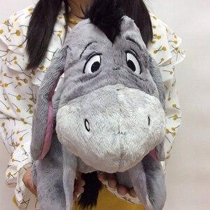 Image 4 - Jouet en peluche doux 36cm, 14 pouces, Animal gris, mignon, poupée, Collection de cadeaux pour anniversaire, pour enfants, livraison gratuite