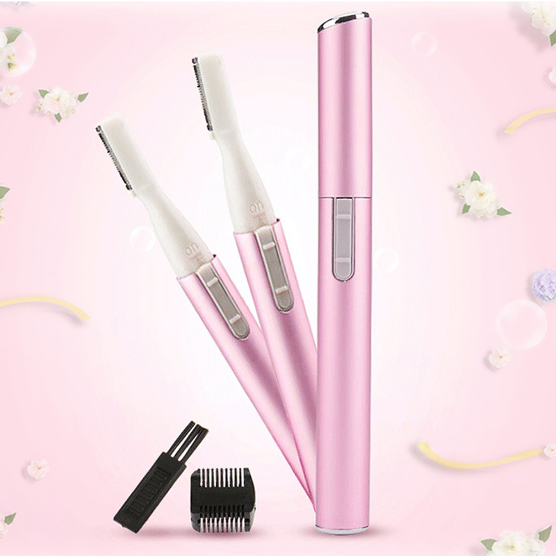 Mini Electric Eyebrow Trimmer Battery Personal Body & Face Beauty Tools Portable Lady Shaver Epilator Eyebrow Cutter