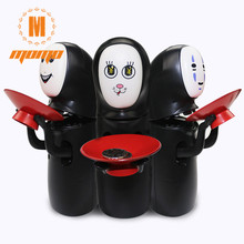 No Face Man Piggy Bank Miyazaki Hayao Spirited Cartoon Music Saving Money Coin Box Storage  Without Bat For Party Favors