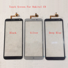 Moible Smartphone Touchscreen Touch Screen For Oukitel C8 C 8 Touch Screen Digitizer Panel Front Glass Sensor Protector Film