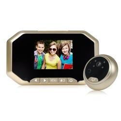 (1 комплект) 3.0 дюймов AHD дисплей Интеллектуальный глазок провод домофон 2mp ночного Версия видео камеры двери телефонной системы