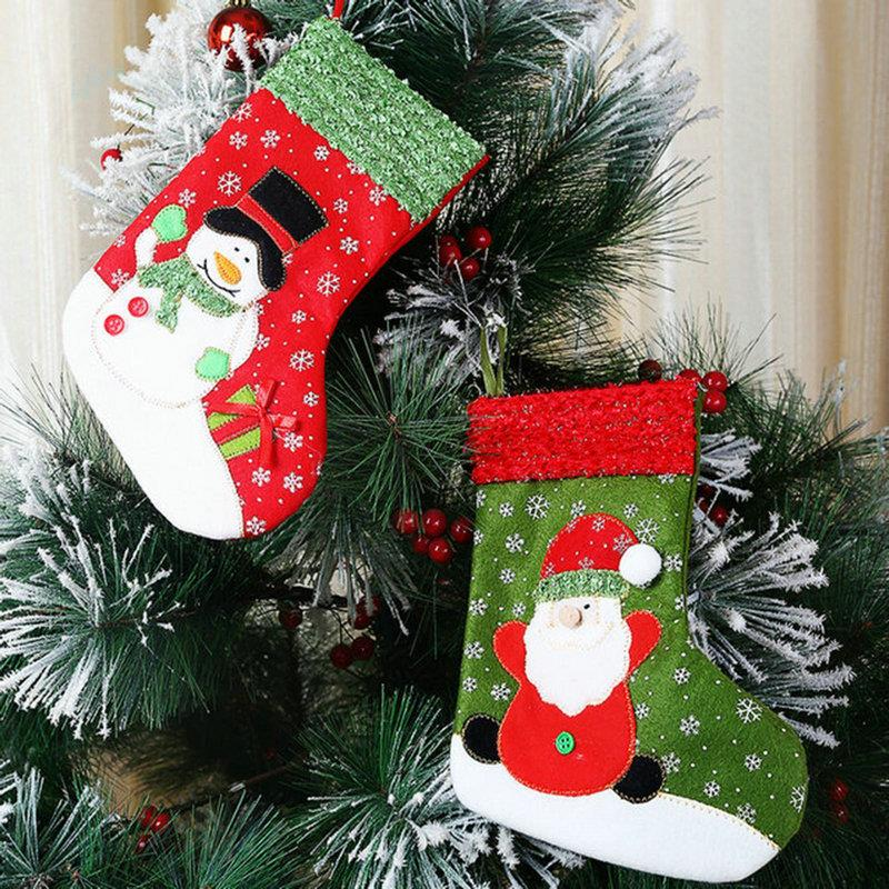 Aliexpress.com : Buy New Christmas Stocking Hanging Decor ...
