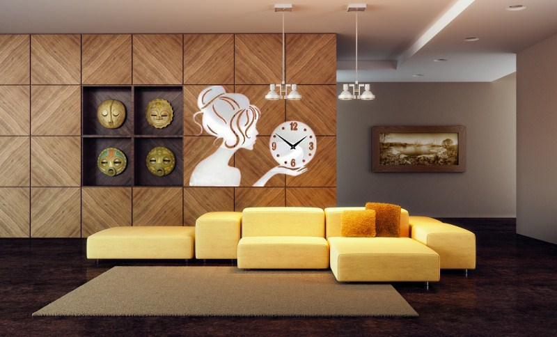 living room wall clock round mirrors; 30 large wall clocks that don.  Decorative . - Decorative Wall Clocks For Living Room Show Home Design