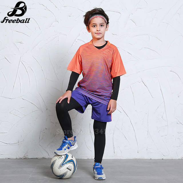 3874c25ff placeholder Survetement football 2017 boys football uniforms thai quality  training sets soccer jerseys for kids soccer kits