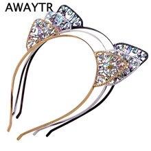 Galeria de cat ear headband por Atacado - Compre Lotes de cat ear headband  a Preços Baixos em Aliexpress.com 99402732ab9