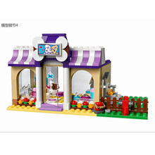 Heartlake Puppy Daycare 41124 Building Blocks Model Figure 618 PCS Toys For Children Compatible Friends Bricks BELA 10558(China)