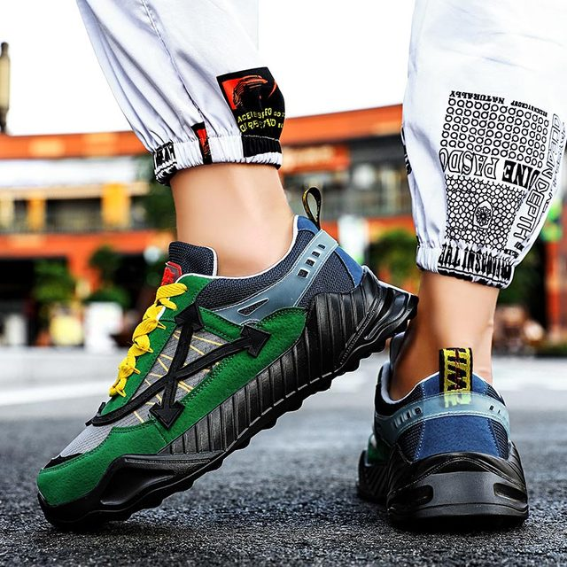 Summer Breathable Running Shoes Man