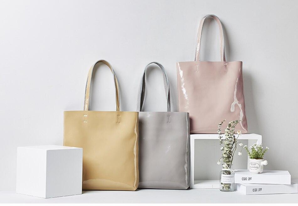 mulheres 2019 bolsas femininas macio couro de