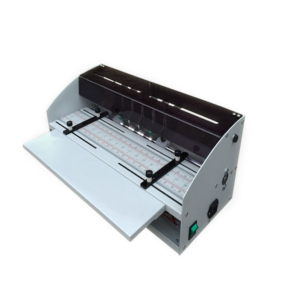 цена на H500 Creasing machine Electric paper creasing machine book line cover creasing cutting Dotted line folding indentation tools