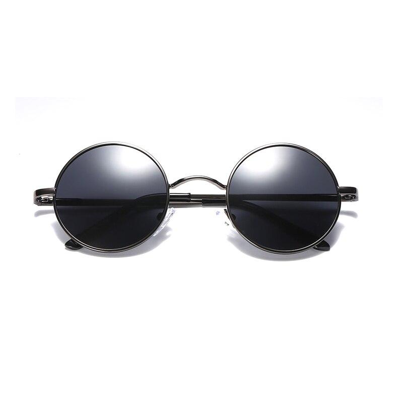 Ellen Buty Brand Design Fashion Women Sunglasses Polarized Round Alloy Female Sun Glasses Driver Driving Mirrors