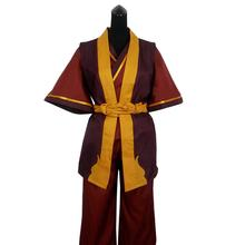 2019 Avatar The Last Airbender Principe Zuko Costume Cosplay Anime Custom Made Uniform