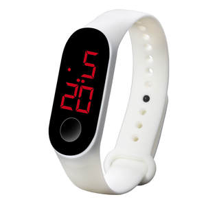 Wrist Watches Clock Fashion Led Sports Reloj Electronic Women Popular Digital Luminous-Sensor