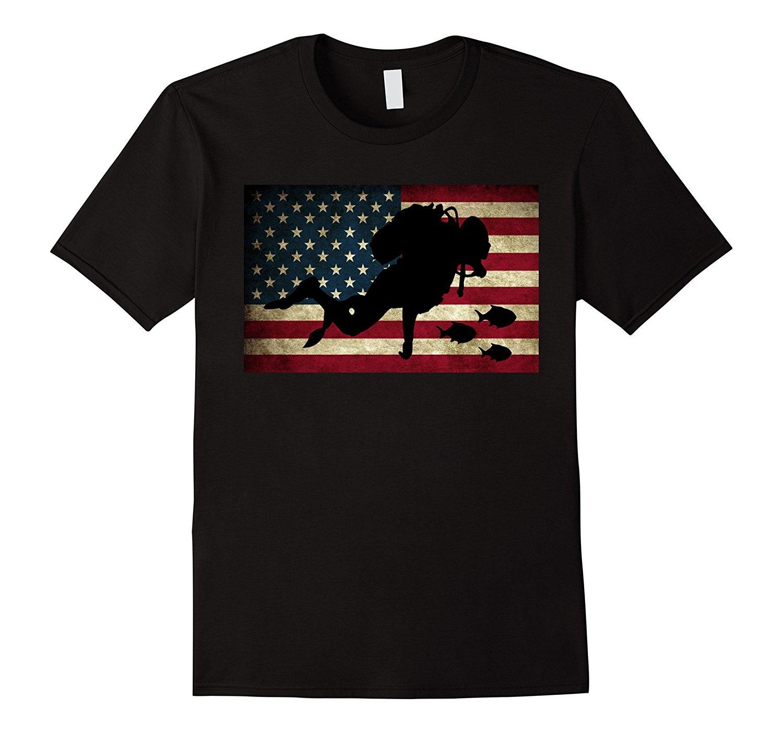 Scuba Divinger T Shirt Diver T-Shirt FreeDivinger Tee 2018 Summer New Brand Men Hip Hop