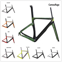 COSTELO NK1K full carbon road bike frame,fork headset clamp seatpost T1000 Carbon Road bicycle Frame free shipping