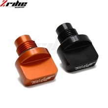Orange CNC Motorcycle Engine Oil Filler Cap Plug cup Plate Brake Bracket screw For KTM DUKE 125 200 390 RC200/390 with DUKE LOGO цена в Москве и Питере
