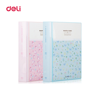 Office Stationery A4 File Folder For Documents PP Folder Data Book Folder 80 Pages A4 Clip