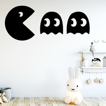Hot PacMan Wall Sticker Wall Decal Sticker Home Decor For Kids Rooms Home Decor Decal Creative Stickers