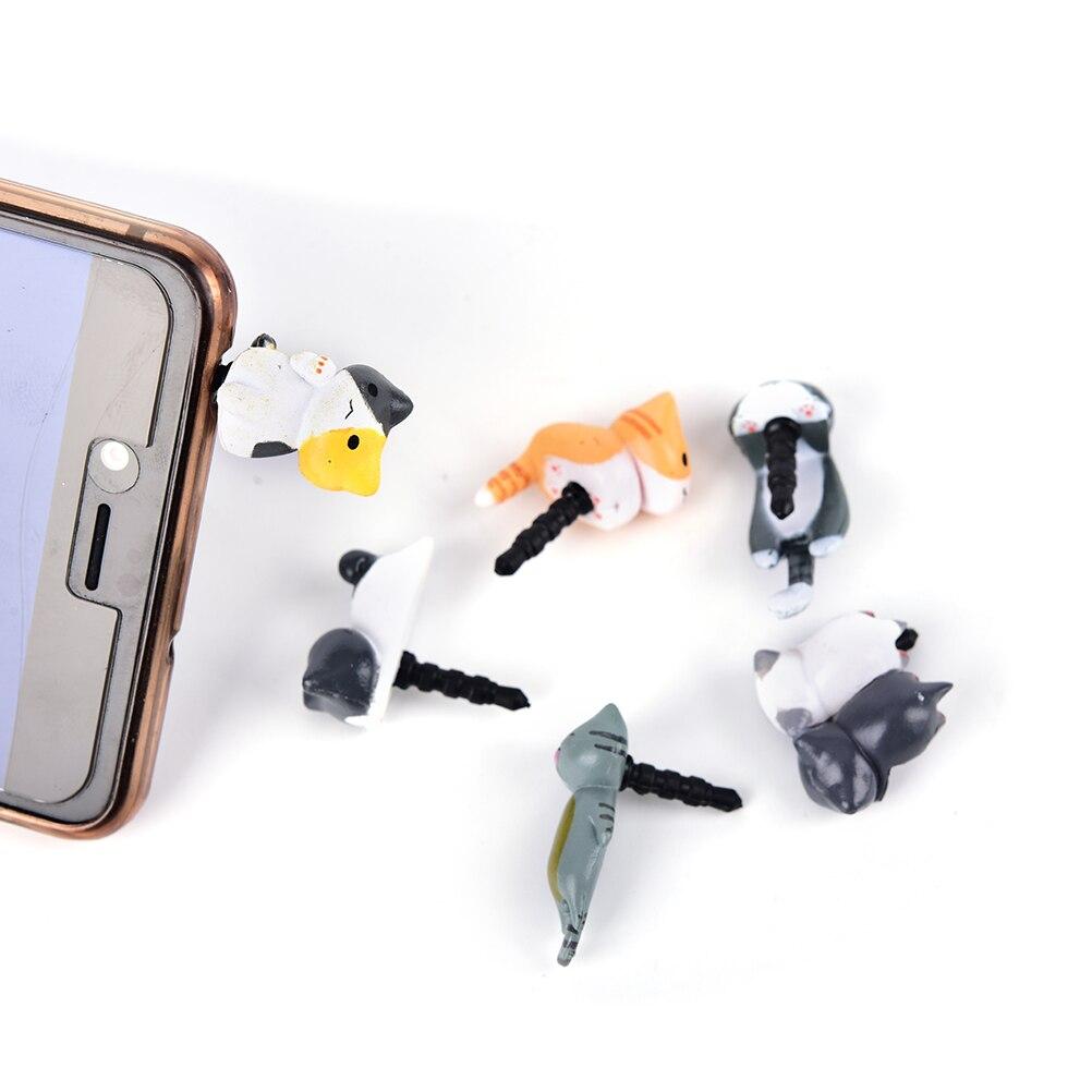 08d8303ccab1eb Costume Jewellery Cute Cheese Cat Mobile Phone Charm Dust Plug Cap Mobile  Phone Case 3.5mm