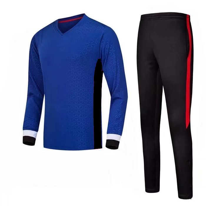 65f45a38a Autumn winter long sleeves soccer jersey & pants Football uniforms men  football jersey training suit Blank