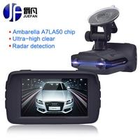 Новый регистратор Видеорегистраторы для автомобилей Антирадары GPS 3 в 1 автомобиль детектор Камера Full HD 1296 P Скорость Cam Анти радар-мини автом...