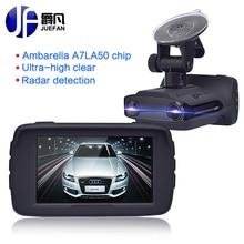 Nuevo Registrador Del Coche DVR Del Detector de Radar GPS 3 en 1 Detector de Coches cámara Full HD 1296 P Cam Anti Radar de Velocidad Mini Coche Dash Cam cámara
