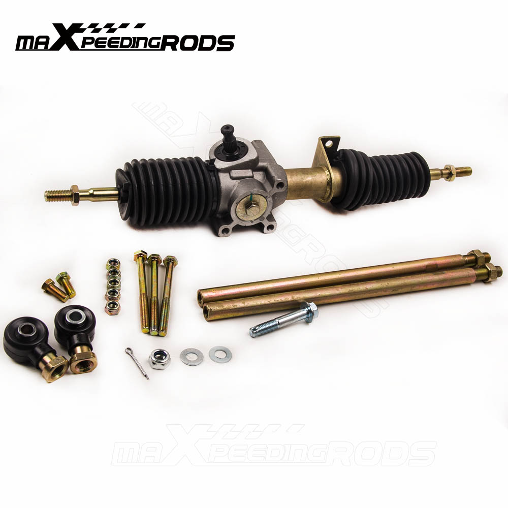 maXpeedingrods RACK and PINION with TIE ROD ENDS Fits POLARIS RZR S 800 EFI 2009-2014 car replacement