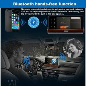 "Image 4 - XST 7 ""IPS 3G Wifi รถ DVR Dash กล้อง Android 5.0 GPS Navigation Video Recorder บลูทูธ Dual เลนส์ dash cam DVR Full HD 1080 P"