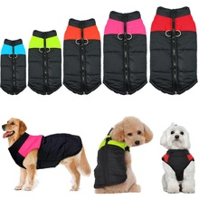 Водонепроницаемый жилет для собак, щенков, куртка, одежда для чихуахуа, теплая зимняя одежда для собак, пальто для маленьких средних и больших собак, размер S-5XL