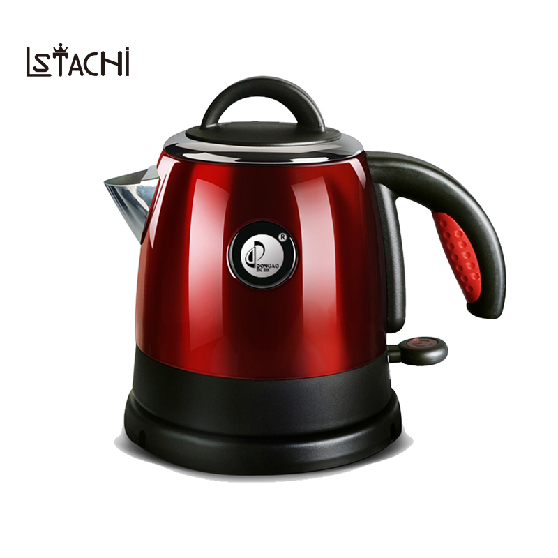 LSTACHi Household Electric Kettle Split Style Stainless Steel Quick Heating Water Kettles Auto Power Off Teapot Boiler 1000W