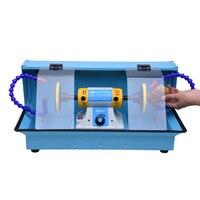 Настольный пылезащитный ящик для воды мельница коробка Водонепроницаемая крышка стол мельница машина для нарезания резьбы полировальная