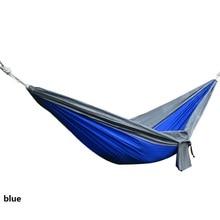 outdoors Single parachute cloth Hammock swing Children Toys camping on vacation sandy beach summer