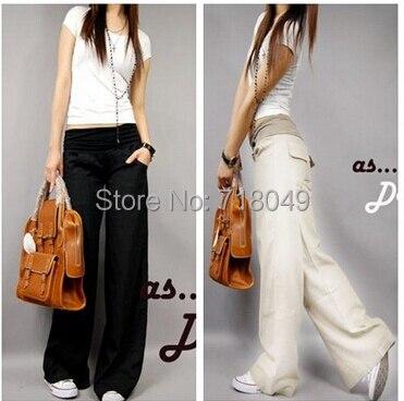 Popular Elastic Waist Linen Pants-Buy Cheap Elastic Waist Linen ...