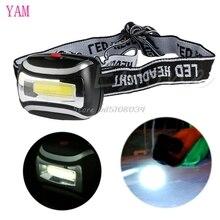 600Lm LED Headlamp Headlight Flashlight Head Light Torch Lamp For Camping Hiking S08 Drop ship