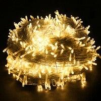BEIAIDI 100M 1000 LED Outdoor Christmas LED Fairy String Light 8 Mode Garden Patio Holiday Wedding Garland Xmas Fairy Light